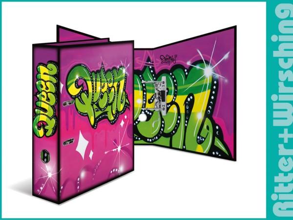 """Herma Ordner """"Graffiti"""" - Queen"""