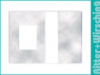 Passmappen Classic Wolkendesign