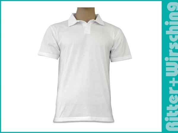 Polo-Shirts Weiß S - XXL