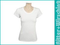 Lady Slim-Fit-Shirts XS - XXL Weiß