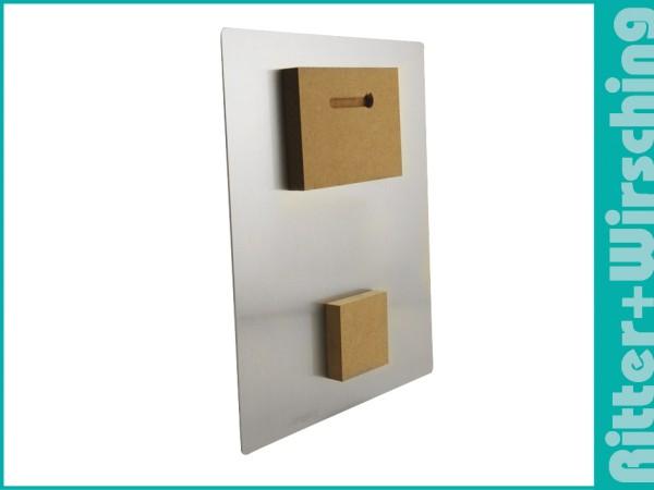 MDF Doppelaufhänger für Aluminiumplatten