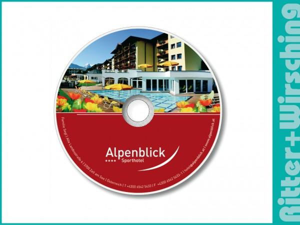 First Class DVD inklusive individueller Bedruckung