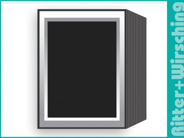 Leporello Farbverlauf weiß/grau