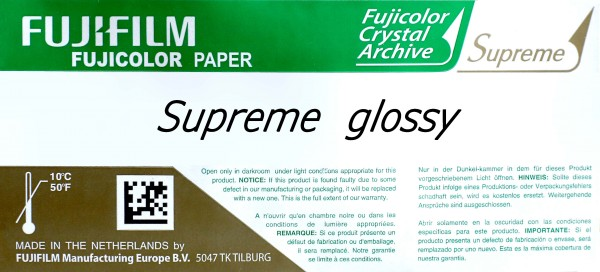 Fujifilm CA Supreme 10,2 cm x 176 m glossy