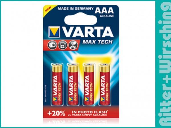 Varta Max Tech 2400 Micro LR03 AAA