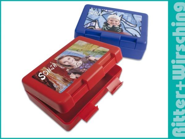 Brotzeitbox in vier Farben
