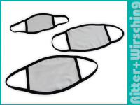 Mund-Nasen-Maske für Sublimation