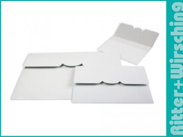 Postertasche 30 x 45 cm weiß