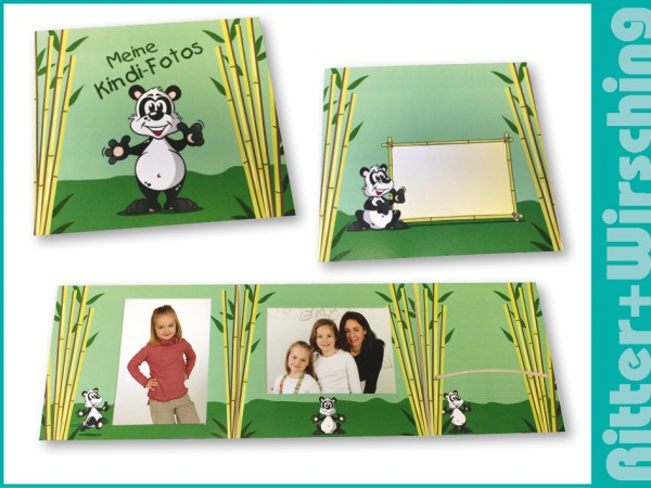 "Bildmappe ""Panda / Bambus"""