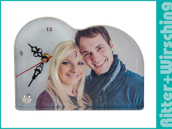 Acrylglas Uhr