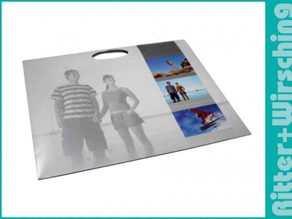 Postertasche 20 x 30 cm Silverline mit Griff