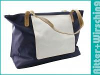 Shopper / Strandtasche Maxi - Blau