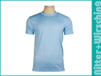 Basic-T-Shirts Hellblau