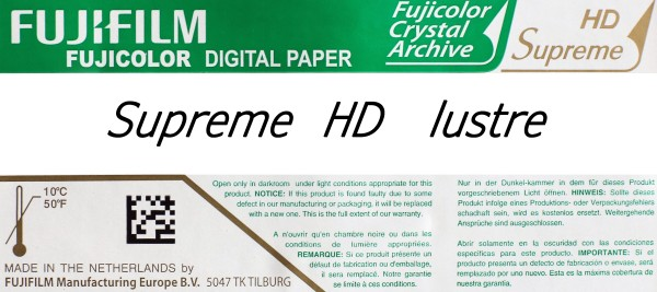 Fuji Supreme HD 15,2 cm x 167,6 m lustre