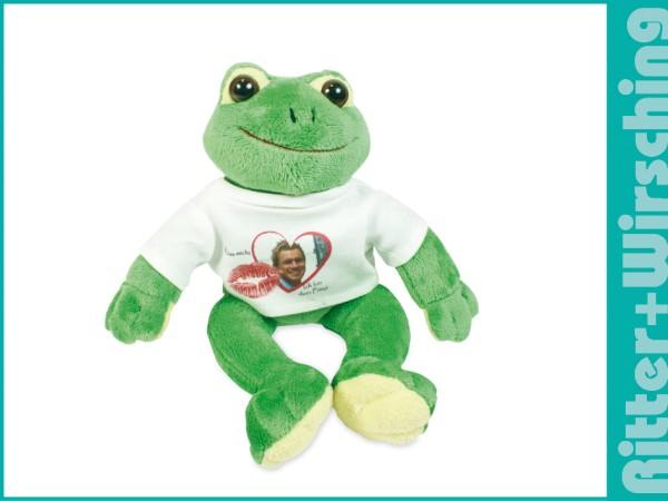Stofftier Frosch