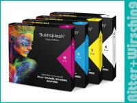 Sublisplash Tinte für Ricoh GXe-2600 / 3300N / 7700N