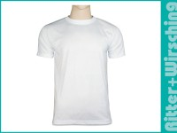 Basic-T-Shirts Weiß 3XL - 4XL