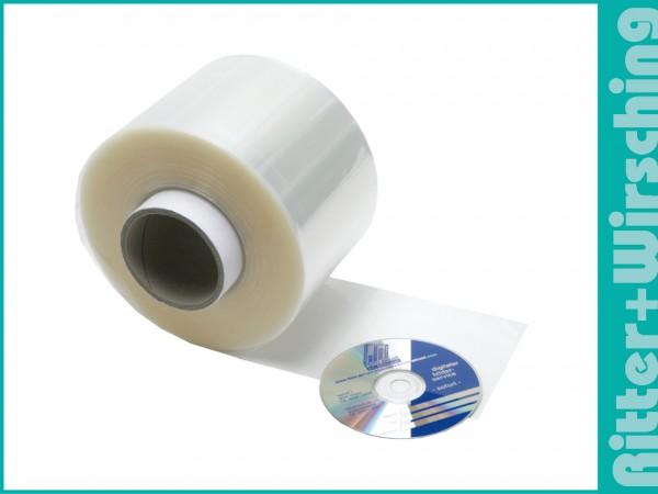 CD Folientaschen mit Einsteckschlitz