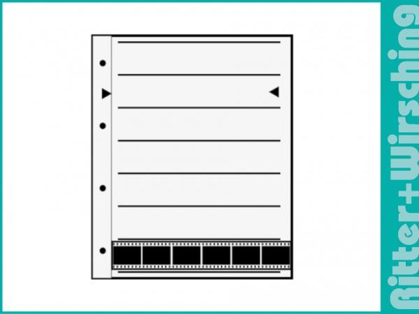 Ablageblätter aus Acetat / Pergamin