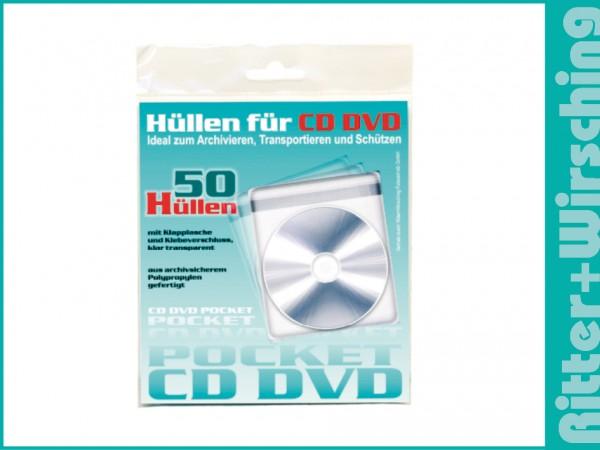 CD Folientaschen Einzelblattpackungen