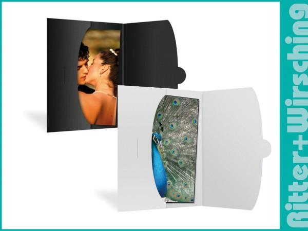 Bildertaschen für 15 x 21 Fotokarton weiß