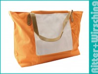 Shopper / Strandtasche Maxi - Orange