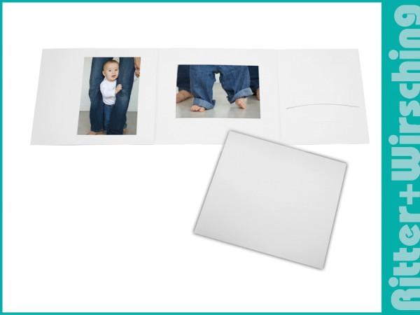 Bildmappe neutral weiß