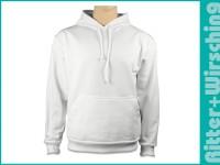 Kapuzen-Sweat-Shirts Weiß S - 3XL
