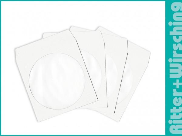 CD Papertaschen weiß