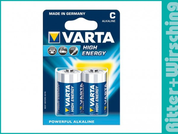 Varta High Energy Baby 1400 LR14