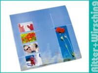 Postertasche 20 x 30 cm Blueline und Greenline