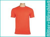 Basic-T-Shirts Signalorange