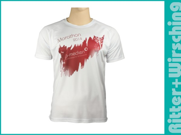 Sport-Shirts Weiß S - XXL