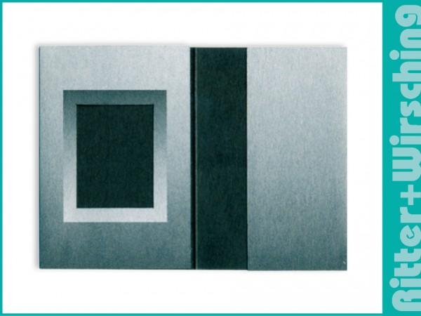 Passmappen Classic schwarz/silber-Verlauf