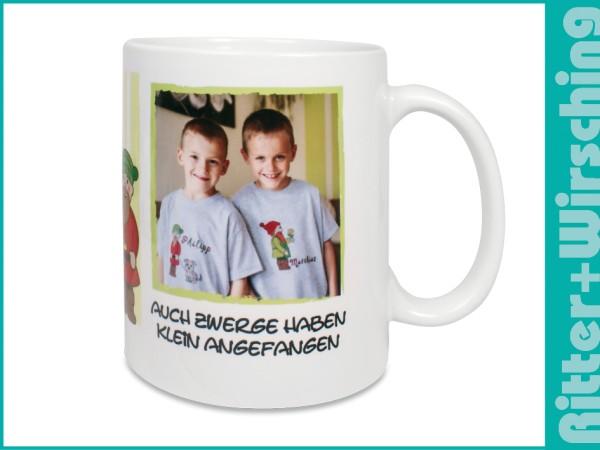 DURAGLAZE-Tasse Weiß satiniert