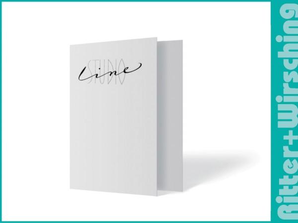 """Leporello-Umschlag """"Studio Line"""""""