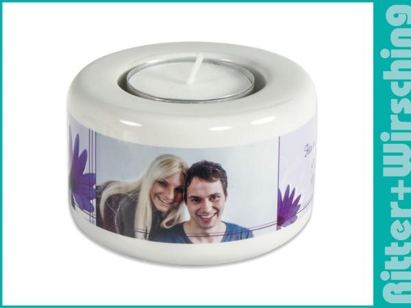 Kerzen-/Teelichthalter klein