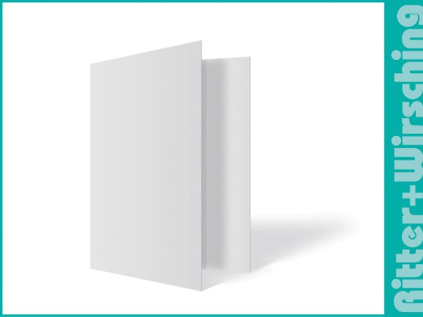 Leporello-Umschlag mit Einstecktasche